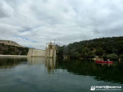 Piragüismo Hoces del Río Duratón,canoas; parque natural bardenas reales ruta muniellos